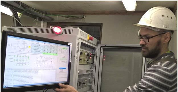Стойка автоматического управления САУ анализатором АР-35-О