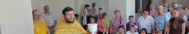 Открытие класса для занятий детской воскресной школы